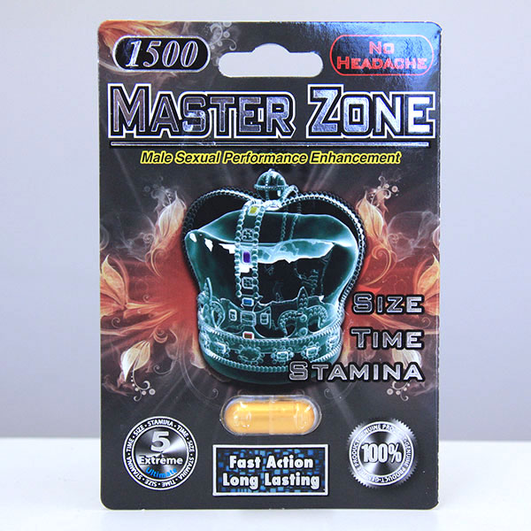 Master Zone 1500 mg Pill, 1 Capsule (Out of Stock)
