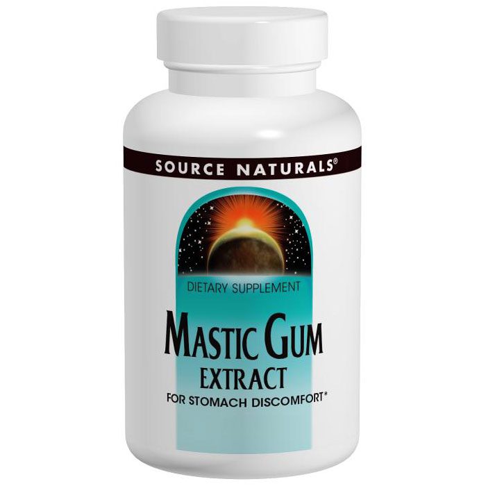 Mastic Gum Extract 500 mg 60 caps from Source Naturals