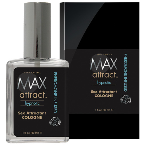 Image of Max 4 Men Max Attract Sex Attractant Cologne (Pheromone Cologne), Boxed, 1 oz, Classic Erotica