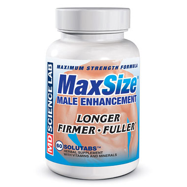 max size maxsize male enhancement formula 60 tablets