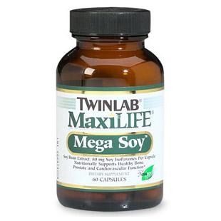 Maxilife Mega Soy 60 caps from Twinlab
