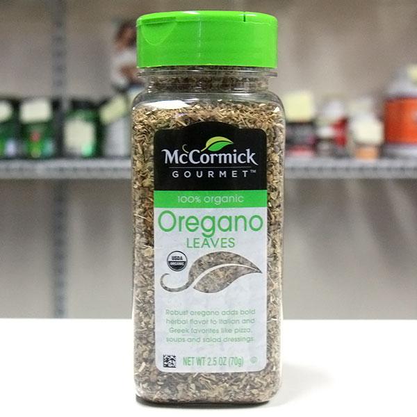 McCormick Organic Oregano Leaves, 2.5 oz (70 g)