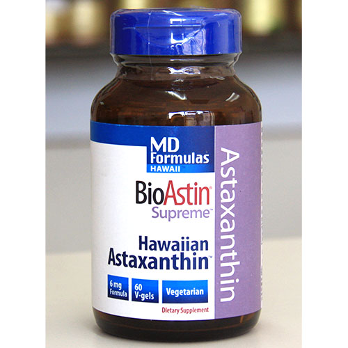 MD Formula BioAstin Supreme, Natural Astaxanthin, 60 Capsules, Nutrex Hawaii
