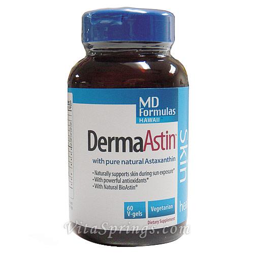 MD Formula DermaAstin, 60 Capsules, Nutrex Hawaii