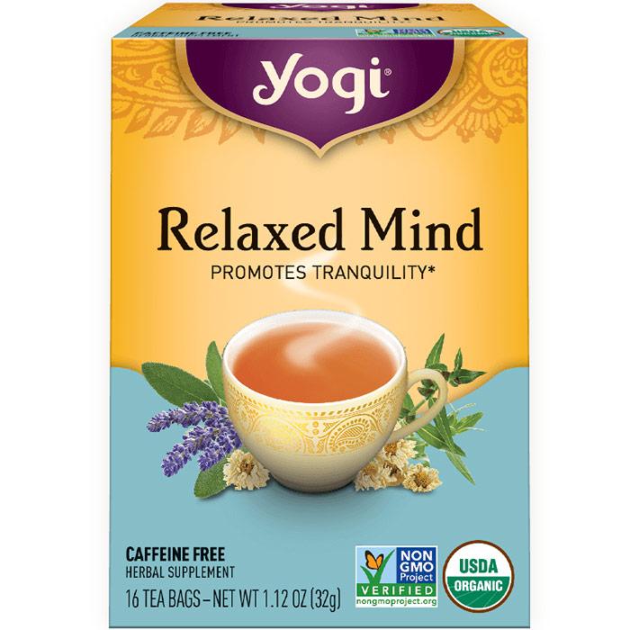 Relaxed Mind Tea, 16 Tea Bags, Yogi Tea