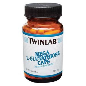 Mega L-Glutathione 250mg 60 caps from Twinlab