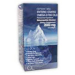 Mega Omega 3 Fish Oils (300EPA/200DHA), 120 Softgels, Olympian Labs