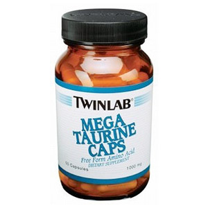 Mega Taurine 1000 mg 50 caps from Twinlab