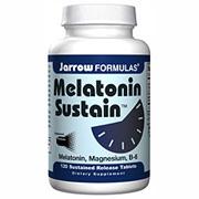 Melatonin Sustain 1mg, 120 Sustained Release tablets, Jarrow Formulas