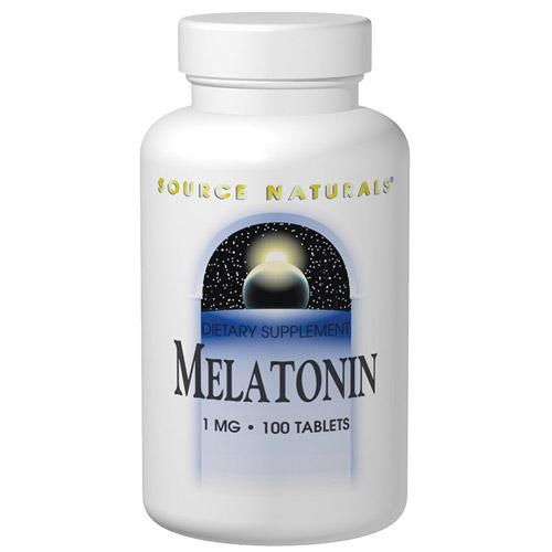 Melatonin 5mg 60 tabs from Source Naturals