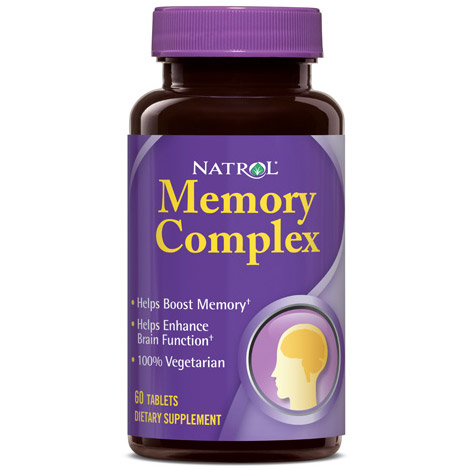 Memory Complex 60 Tablets from Natrol