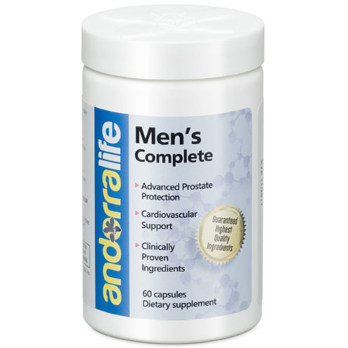 Mens Complete, Nutritional Support for Men, 60 Capsules, Andorra Life