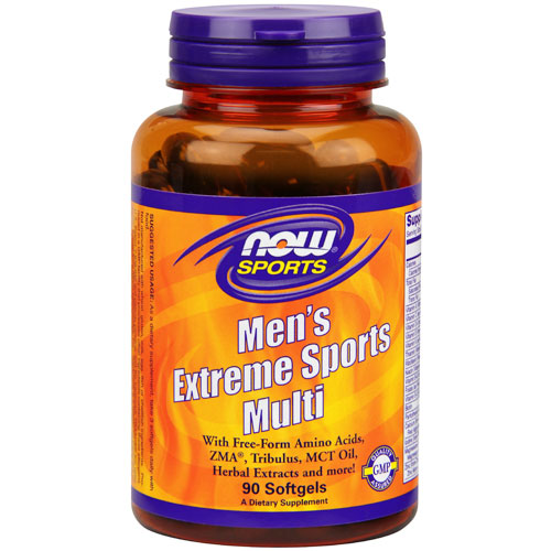 Mens Extreme Sports Multi Vitamins, 90 Softgels, NOW Foods
