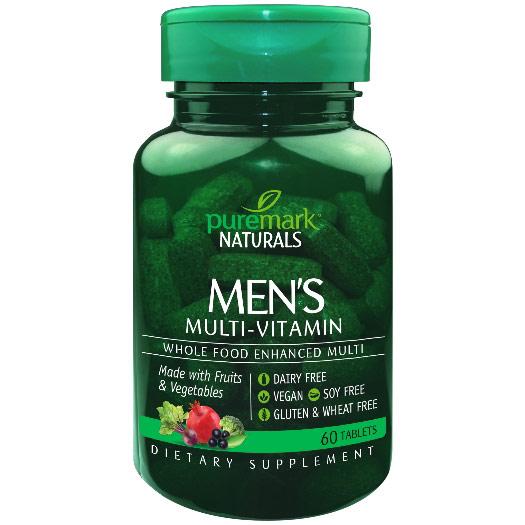 Mens Multi-Vitamin, 60 Tablets, PureMark Naturals