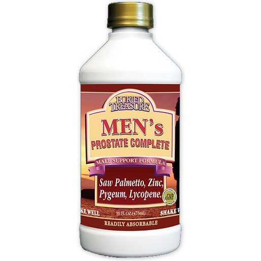 Mens Prostate Complete Liquid Supplement, 16 oz, Buried Treasure Liquid Nutrients