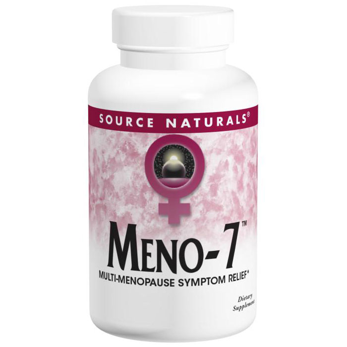 Meno-7, Multi Menopause Relief, 60 Vegetarian Capsules, Source Naturals
