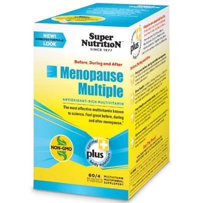 Menopause Multiple, Antioxidant-Rich Multivitamin, 60 Packets (4 Tablets Each), SuperNutrition