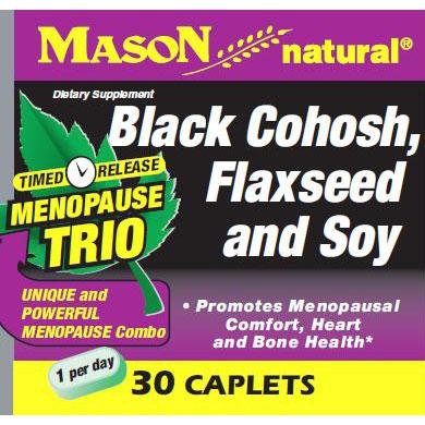 Menopause Trio, 30 Caplets, Mason Natural