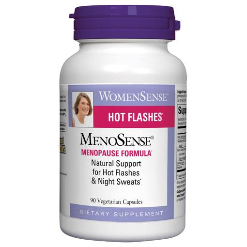 MenoSense Menopause Health, 90 Vegetarian Capsules, Natural Factors