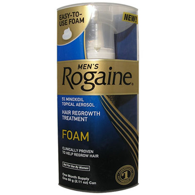 Rogaine Foam For Men One Month Supply