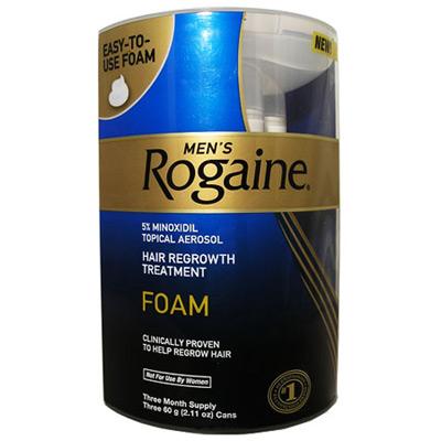 Rogaine foam 3 pack