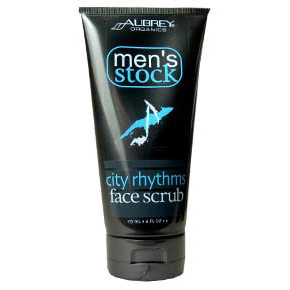 Mens Stock City Rhythms Face Scrub, 6 oz, Aubrey Organics