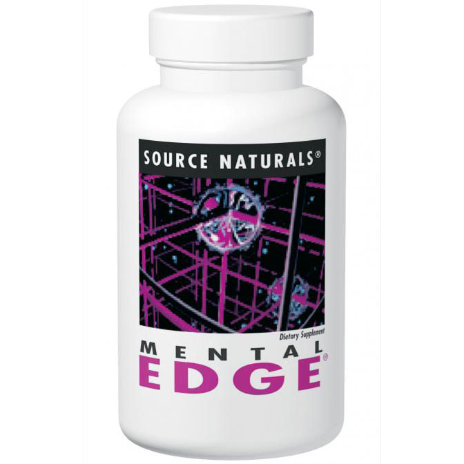 Mental Edge 60 tabs from Source Naturals