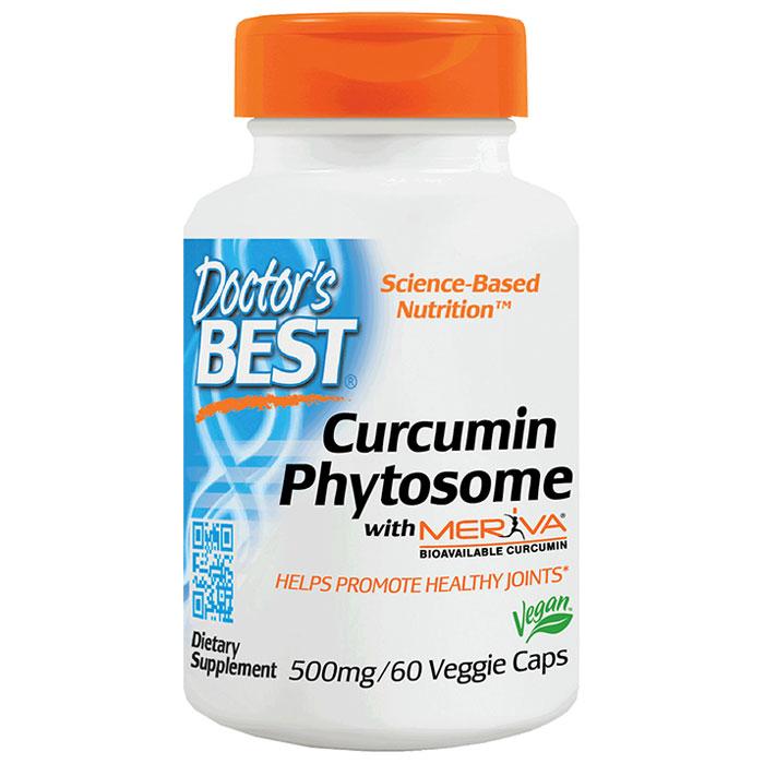 Curcumin Phytosome with Meriva, 60 Veggie Capsules, Doctors Best