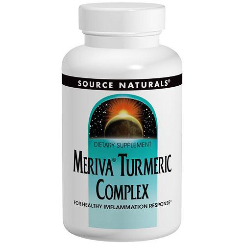 Meriva Turmeric Complex Cap, 120 Capsules, Source Naturals