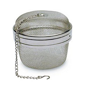 Image of Mesh Tea Ball, Stainless Steel, 4 Inches, StarWest Botanicals