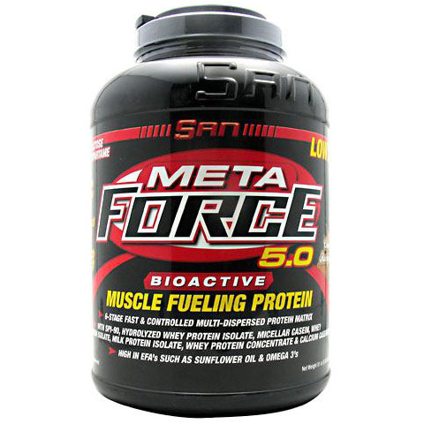 Meta Force, Bioactive Muscle Fueling Protein, 81 oz (5.06 lb), SAN Nutrition