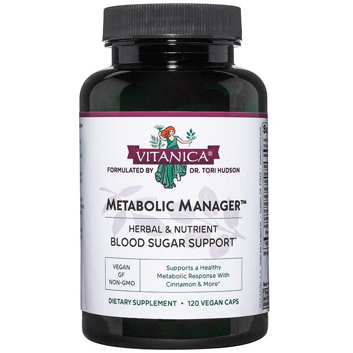 Metabolic Manager, 120 Vegetarian Capsules, Vitanica