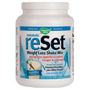 Metabolic ReSet Weight Loss Shake Mix - Vanilla, 1.4 lb, Natures Way