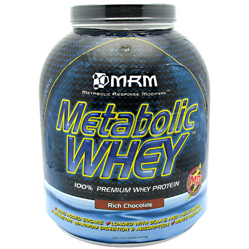 Metabolic Whey Protein Powder, 5 lb, MRM