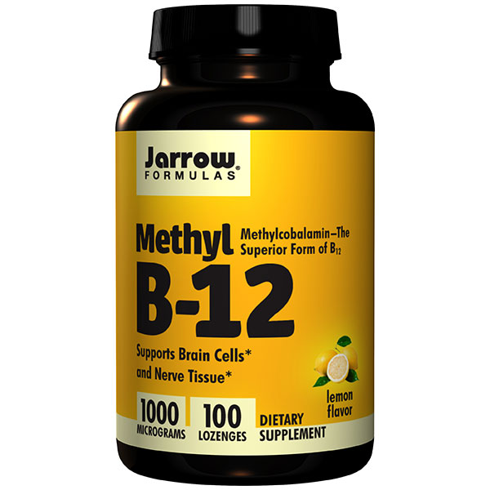 Methyl B-12, Methylcobalamin 1000 mcg 100 lozenges, Jarrow Formulas