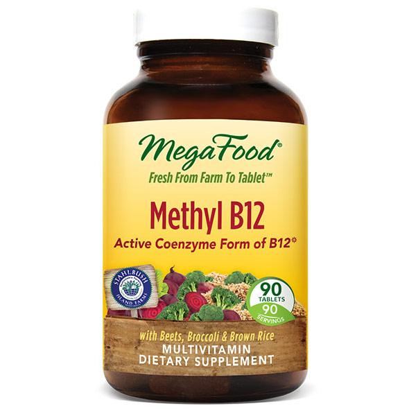 Methyl B12, 90 Tablets, MegaFood
