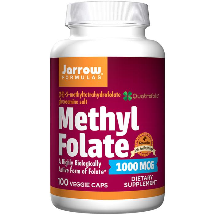 Methyl Folate 1000 mcg, 100 Capsules, Jarrow Formulas