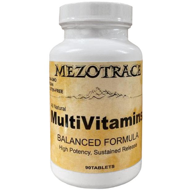 Mezotrace Balanced-Formula Multivitamins 120 tablets