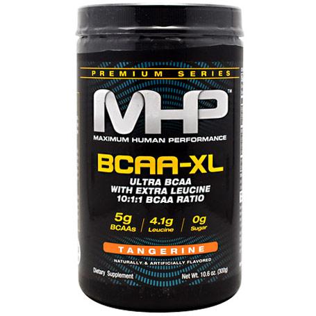 MHP BCAA-XL Powder, Ultra BCAA with Extra Leucine, 300 g (30 Servings)
