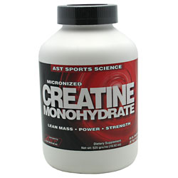 Micronized Creatine Monohydrate , 525 g, AST Sports Science