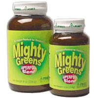 Mighty Greens Superfood Blend Powder 8 oz from Pines International