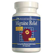Image of Migraine Relief, Herbal/Homeopathic, 60 caps, Ridgecrest Herbals