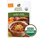Mild Chili Seasoning Mix, 1 oz, Simply Organic