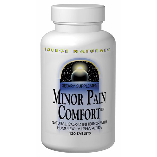 Minor Pain Comfort with Humulex 120 tabs from Source Naturals