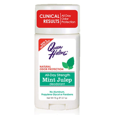 Mint Julep Deodorant Stick, All-Day Strength, 2.7 oz, Queen Helene