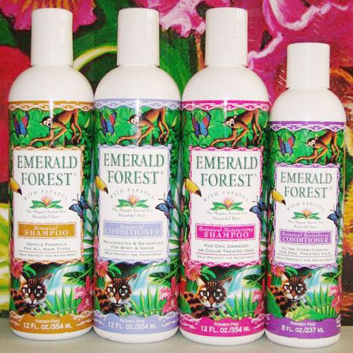 Botanical Moisturizing Shampoo, 12 oz, Emerald Forest