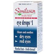 Monodose Eyedrops #1 Red Eyes, 20 Dose, Similasan