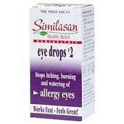 Monodose Eyedrops #2 Allergy Eyes, 20 Dose, Similasan