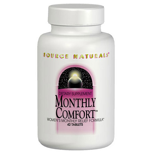 Monthly Comfort (PMS Relief) 42 tabs from Source Naturals