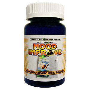 Mood Improve, Value Size, 60 Capsules, 4 Organics